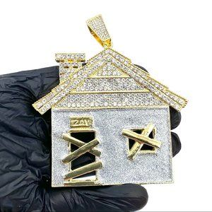 Iced Stardust Bando Traphouse Pendant
